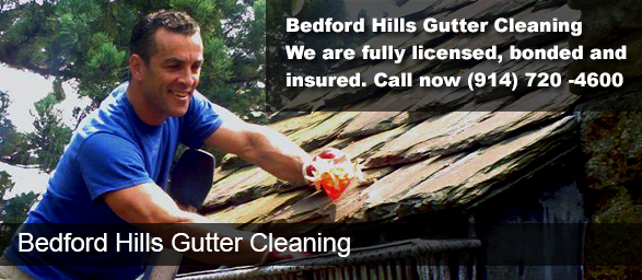 Bedford Hills NY Gutter Cleaning