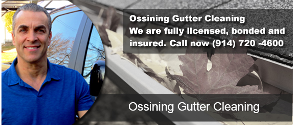 Ossining NY Gutter Cleaning