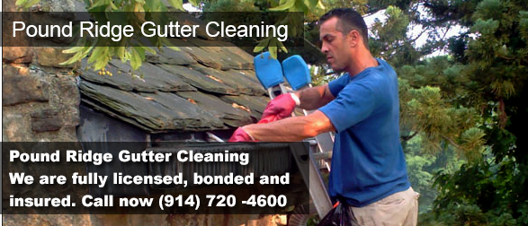 Pound Ridge NY Gutter Cleaning