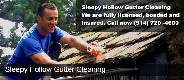 Sleepy Hollow NY Gutter Cleaning